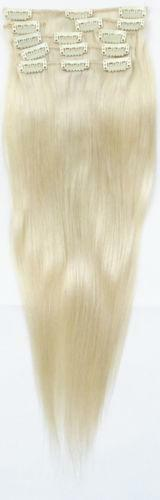White Human Hair Extensions 106