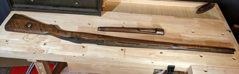 Turkish Mauser Stock with Handguard Repaired