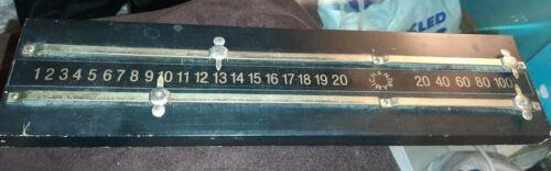 Vintage Snooker Scoreboard