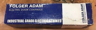 Folger Adam Electric Door Controls 310-4s 12d 630 Industrial Grade El. Strikes