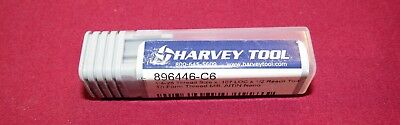 Harvey Tool Solid Carbide Thread Mill Metric 5 X .8 Mm Tialn-nano Coated