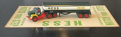 Rare Vintage Hess Oil Add-a-Mat Circa 1955. Great Hess Truck Boat Display Item!
