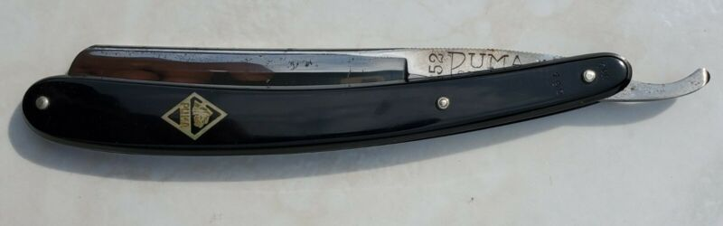 VINTAGE Straight razor. PUMA 52 SOLINGEN MADE IN GERMANY FROM BEST PUMA-STEEL.