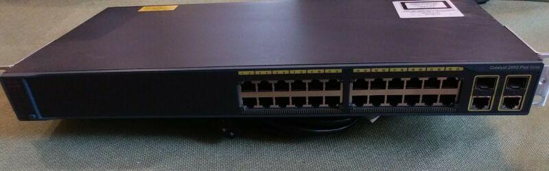Cisco WS-C2960-24TC-L Catalyst 24 Port Ethernet Switch