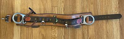 Buckingham Lineman Positioning Belt