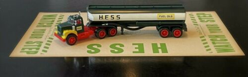 Rare Vintage Hess Oil Add-a-Mat Circa 1955 Truck Boat Amerada Fuel Display Piece