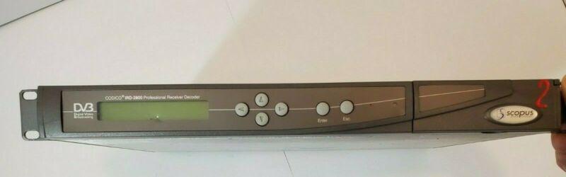 """""""Scopus"""" Codico IRD-2800 Professional Receiver Decoder"""