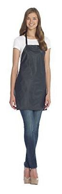 Salon Elements Slicker Apron, Black, SE140