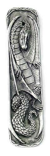 Dragon Spell Stick Incense Burner  - Pewter