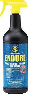 (12) Farnum 3002431 32 oz Endure Sweat Resistant Horse Fly Repellent Spray - Endure Fly Repellents
