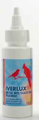 Morning Bird Iverlux for Birds 2 fl oz Air sac mite scaley face treatment