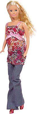 Simba Spiele Steffi Love schwangere Puppe 13 Teile Ankleide Modepuppen NEU