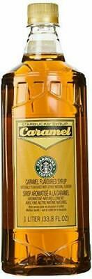 Starbucks Caramel Syrup ~ 1 Liter | 33.8 Oz ~ BEST BY FEB 2019 ~ NEW ~ No Pump