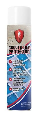 LTP Grout and Tile Protector Spray 600ml Aerosol - Clear Sealer for Bathrooms