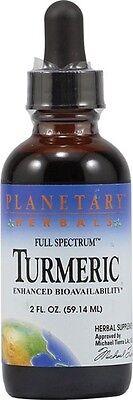 Planetary Herbals Turmeric Extract  Full Spectrum  2 Oz  Liquid 2 Oz