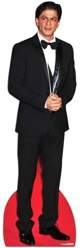 Shah Rukh Khan Bollywood Actor Fun Cardboard Cutout 184cm Tall-At your Party!