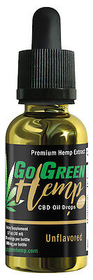 Gogreen Hemp   Pure And Natural   1Oz Tincture 500Mg   Unflavored