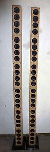 2x Lautsprecherboxen mit 48 Bose Acoustimass 5 Serie 3 Line Array UNIKAT