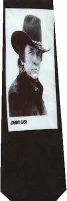 JOHNNY CASH MAN IN BLACK NEW NOVELTY TIE