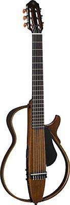 Yamaha silent guitar nylon strings natural SLG200N NT comprar usado  Enviando para Brazil