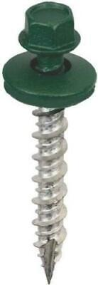 Forest Green Metal Roofing Screws 9 X 1 12 250 Pack 14 Hex Drive Fast Ship