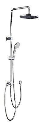 Shower Rail - Round Multi Function - 3 years warranty - solid brass