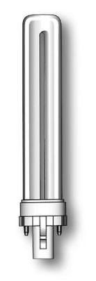 10X 7W Duralux S Light Bulbs 2Pin 2P G23 Low Energy Cfl Pls 4000K 840 Cool White