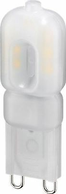 Goobay LED compact lamp 2.2W base G9 20W equivalent warm white (71440)