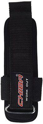 Chiba 40620 - Polsino fitness Powerstrap II, taglia unica, colore: nero (s2y)