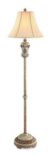 Vintage Brass Floor Lamp Ebay