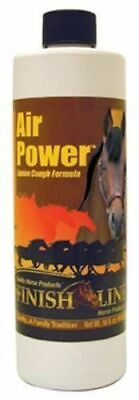 Air Power Natural Equine Cough Formula 16oz Finish Line Horse Syrup