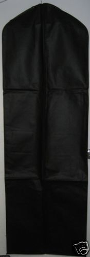 Black Breathable Cloth Wedding Gown Dress Garment Bag