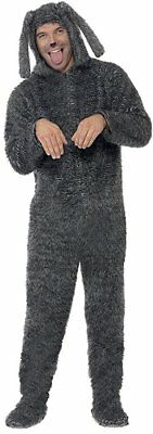 Smiffy's Fluffy Dog Wilfred Kigurumi Adult Mens Halloween Costume 23605 - Wilfred Costume