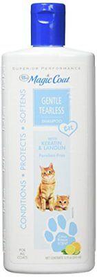 - Magic Coat Cat Tearless Shampoo, 12-Ounce