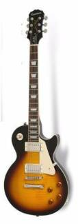 EPIPHONE LES PAUL LP STD PLUS PRO ELECTRIC GUITAR VINTAGE SUNBURS Nerang Gold Coast West Preview