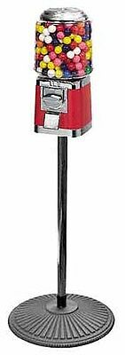 Commercial Classic Gumballcandy Vending Machine On Iron Pipe Stand