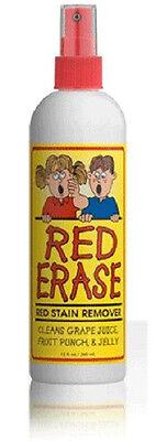 Red Erase Stain Remover Safe For Children   Pets Biodegradable 12 Oz Bottle H121