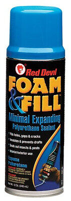 New Red Devil 0913 Foam Fill Expanding Polyurethane Foam 12 Oz.