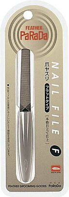 PARADA JAPAN GF−110F Nail File F Flat Type Feather