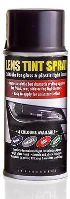 150ml BLACK SMOKE Lens Spray Tint Paint headlamp headlight indicator MC17/10