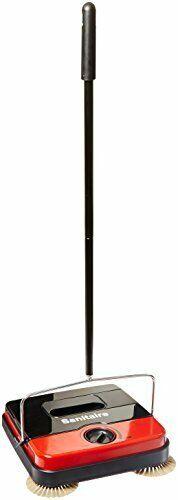 "Sanitaire EUKSC430 Carpet & Hard Floor Sweeper Wide 11.5"" Sweep Path Easy Empty"