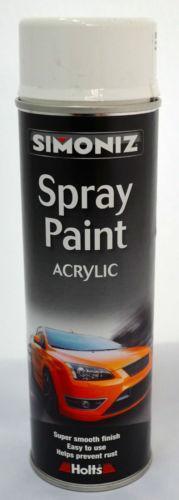 white acrylic spray paint ebay. Black Bedroom Furniture Sets. Home Design Ideas