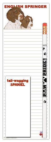 English Springer Shopping Pad