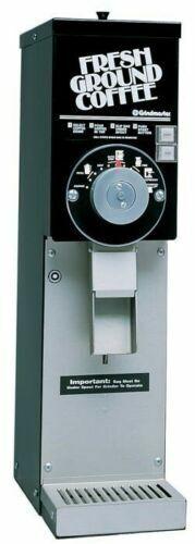 GRINDMASTER 875 COMMERCIAL 3 LB BLACK BULK COFFEE GRINDER CLEANED/TESTED