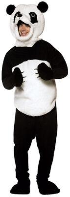 Panda Mascot Padded Adult Standard Costume (Panda Costume Adult)