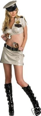 Reno 911! Female Deputy Cop Sexy Womens Adult Costume