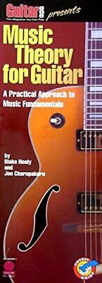 GUITAR ONE PRESENTS MUSIC THEORY FOR GUITAR-POCKET GUIDE MUSIC BOOK-NEW ON SALE!