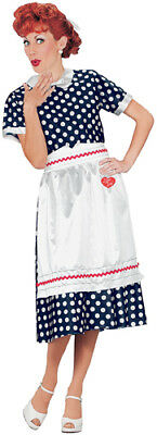 I Love Lucy Adult Polka Dot Dress Halloween Costume