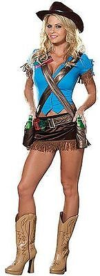 DREAMGIRL 4007  Women's Shoot'em Up Cowgirl Costume several sizes NEW reg $74.99