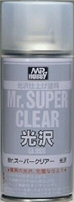 Mr. Hobby Mr. Super Clear Gloss Spray 170ml B513 Model Kit Paint Can